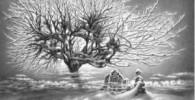نقاشیهای بسیار زیبا از فصل زمستان با مداد!
