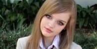 عکش دختر 16ساله امریکایی شبیه عروسک باربی است!