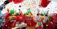 عکس هایی از آغاز سال اژدها در چین