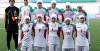 عکس تیم فوتبال بانوان ایران