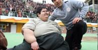 عکس چاق ترین پسر ایران با مهدوی کیا