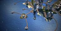 عکس ساخت مرتفع ترین برج جهان در ساحل دریای خزر!