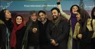 گزارش تصویری  نشست خبری فیلم سینمایی برف روی کاج ها با حضور بازیگران