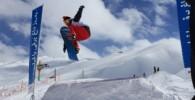 تصاویری از اسکی در پیست دیزین
