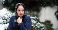 گزارش تصویری : مهناز افشار در پشت صحنه برف روی کاج ها