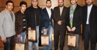 عکس های حضور بازیگران در نمایشگاه هنرهای تجسمی