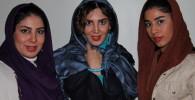 مقابل دوربین همراه با بازیگر سینما لیلا بلوکات و خواهرانش