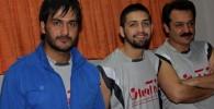 عکس های از حضور بازیگران در مسابقه والیبال