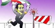کاریکاتور عابدزاده ممنوع الخروج شد