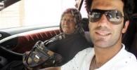 شیث رضایی و مادرش (عکس)