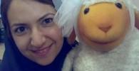 عکسی از این خانم عروسکگردان «ببعی» کلاه قرمزی!