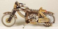 عکس موتور های مینیاتوری ساخته شده با قطعات ساعت