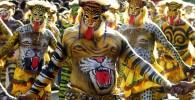 عکس «جشن ببر»؛ جشنی عجیب در هند