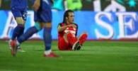 صحنه هایی از پنالتی مشکوک روی کریمی در بازی پرسپولیس و داماش گزارش تصویری