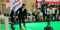 عکس : گلزنی فردوسی پور به ربات های فوتبالیست