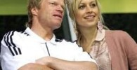 تصویری از اولیور کان و همسرش