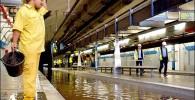 تصاویر دیدنی از آبگرفتگی مترو در نقاط مختلف جهان!
