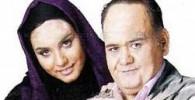 اکبر عبدی در کنار دخترش