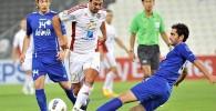 گزارش تصویری تیمهای فوتبال استقلال تهران و الجزیره امارات
