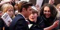 عکس زاک افرون در مراسم افتتاحیه فیلم The Lucky One
