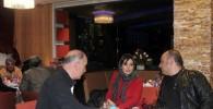 عکس هایی از چهره متفاوت نیوشا ضیغمی و سحر قریشی در افتتاحیه یک رستوران!