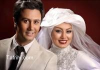 سحرقریشی در لباس عروس