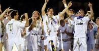 تصاویر زیبا از جشن باشکوه رئال مادرید در برنابئو