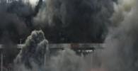 هوادران تیم کلن آلمان استادیوم را به آتش کشیدند
