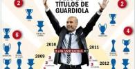تمام افتخارات گواردیولا با بارسلونا در یک قابافتخارات