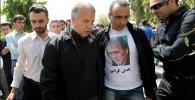 تصاویر حضور فتح الله زاده و علی پروین در مراسم سالگرد ناصر حجازی