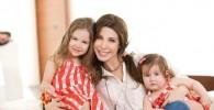 تصاویر جدید از دو دختر نانسی عجرم در صفحه فیس بوک