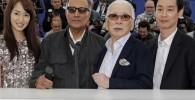 گزارش تصویری: حضور عباس کیارستمی در جشنواره فیلم کن
