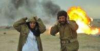 مجید صالحی ، اکبر عبدی و رابعه اسکویی در سریال جنگبازی