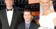 ازدواج بلندقدترین زن 2 متری با مرد 209 سانتی!