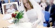 وفادارترین دختر جهان! ازدواج با نامزد مرده !