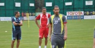 تصاویر تمرین تیم ملی فوتبال با حضور ملی پوشان در کمپ ترکیه