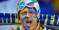 تصاویری از شادی و غم هواداران در یورو ۲۰۱۲