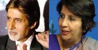 تصاویر شباهت خانم سفیر هندی به آمیتا باچان