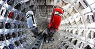 تصاویری از پارکینگ زیبا و بسیار عجیب بنام فولکس واگن