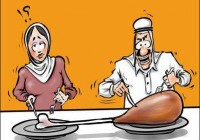 کاریکاتور تفاوت دنیای زن و مرد