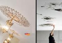 تصاویری از نقاشی هایی خلق شده با شعله فندک