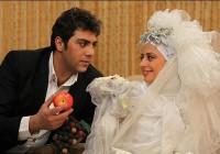 عکس های نفیسه روشن در لباس عروسی