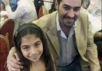 عکس شهاب حسینی با یک دختر خوشگل کوچولو