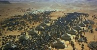 تصاویر ساخت «ده فرمان» با ۱۴ هزار سیاهیلشکر و ۱۵ هزار حیوان