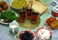 بخور و نخورهای سحر و افطار