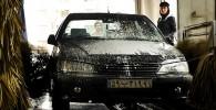 تصاویر کارواشی در تبریز که تمام کارمندانش زن هستند!