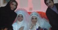 عکس هایی از هیلدا خسروی در لباس عروسی