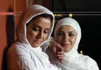 عکس دو نفره متفاوت از ملیکا ( خاله شادونه ) و مریلا زارعی