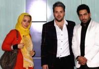 عکس نفیسه روشن در کنار علی عبدالمالکی و سامان گوران