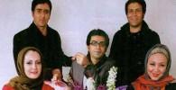 عکس دسته جمعی فرزاد حسنی،بهنوش بختیاری و پوریاپورسرخ